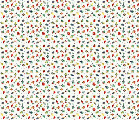 Birdy Houses fabric by fenderskirt on Spoonflower - custom fabric