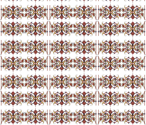 Medieval Lattice fabric by flyingfish on Spoonflower - custom fabric