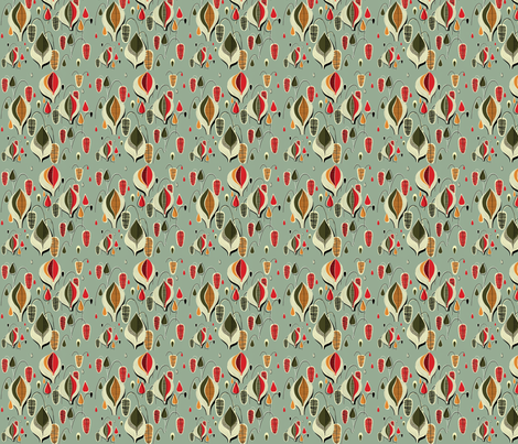 Atomic Raindrops fabric by fenderskirt on Spoonflower - custom fabric