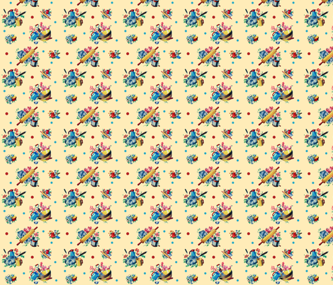 Kitschen fabric by fenderskirt on Spoonflower - custom fabric
