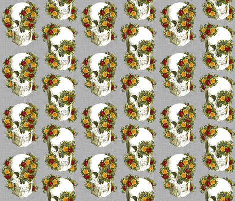 Love Overgrown  fabric by glanoramay on Spoonflower - custom fabric