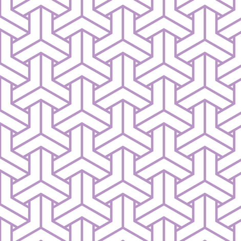 bishamon in charoite fabric by chantae on Spoonflower - custom fabric