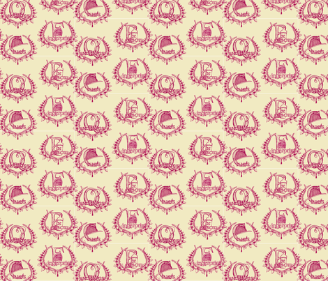 murdermystery fabric by cbronsky on Spoonflower - custom fabric