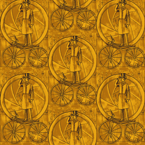 Steam Chariot fabric by smwilde on Spoonflower - custom fabric