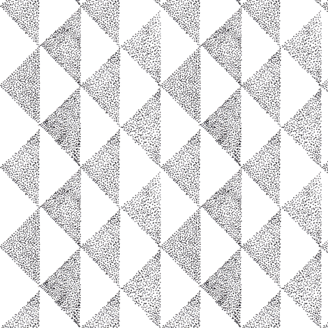 dotty triangles 1 fabric by brokkoletti on Spoonflower - custom fabric