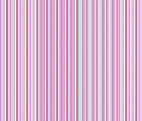 Pretty In Pink Stripes fabric by loriww on Spoonflower - custom fabric