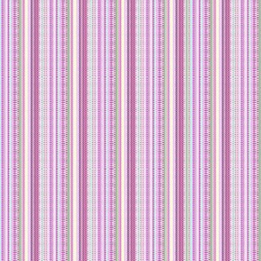 Pretty In Pink Stripes