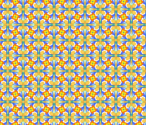 Neauvo Floral fabric by loriww on Spoonflower - custom fabric