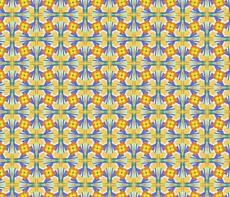Neauvo Floral fabric by loriww on Spoonflower - custom fabric