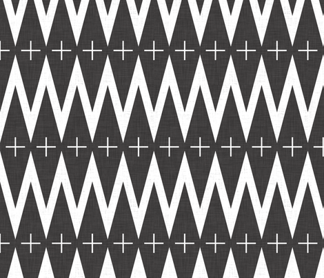 geomtric_plus fabric by holli_zollinger on Spoonflower - custom fabric