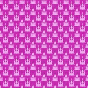 Provo City Center Temple -Tight Pink Linen