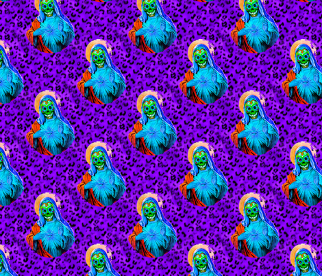 Dead Mary fabric by slickandhisruin on Spoonflower - custom fabric
