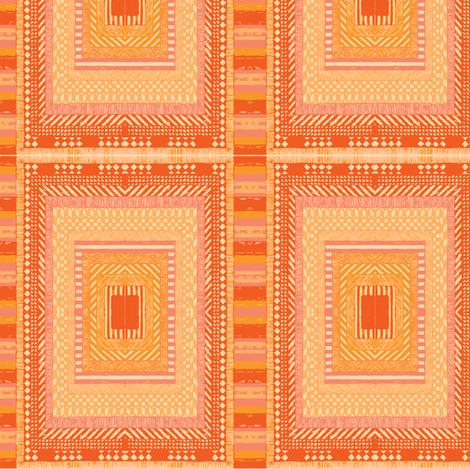 rainbow sarape fabric by iamseamonster on Spoonflower - custom fabric