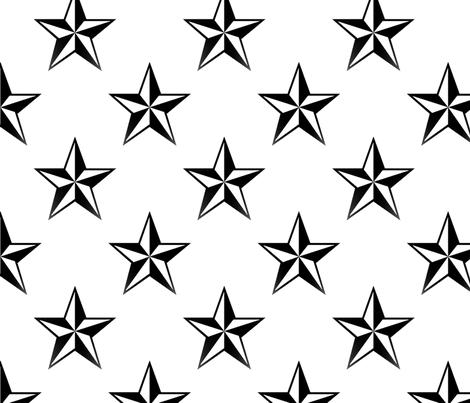 Lone Star fabric by slickandhisruin on Spoonflower - custom fabric