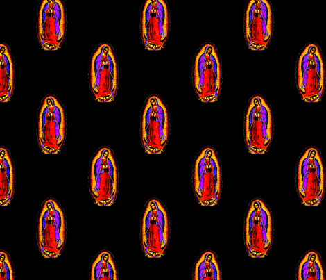 Mary's Loving Glow fabric by slickandhisruin on Spoonflower - custom fabric