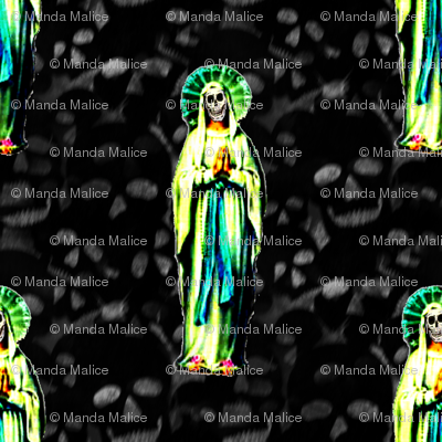 Praying Santa Muerte