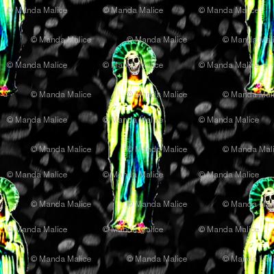 Praying Santa Muerte