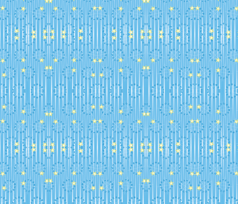 zodiac theme fabric by wyckoffdesign on Spoonflower - custom fabric