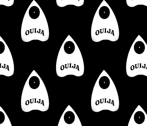 Planchette fabric by slickandhisruin on Spoonflower - custom fabric