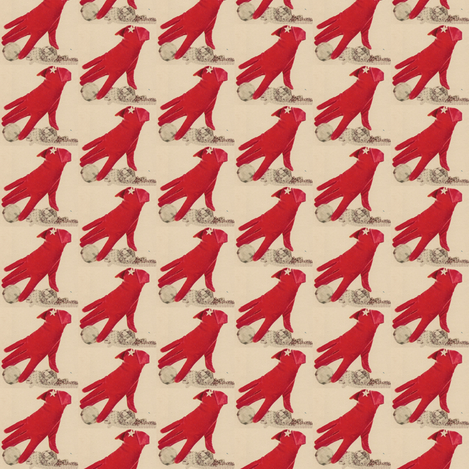 Gant Rouge fabric by taztige on Spoonflower - custom fabric