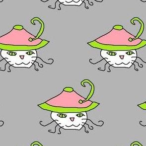 Pink Hat Kitteh