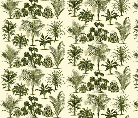 Jungle Palms fabric by flyingfish on Spoonflower - custom fabric