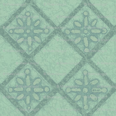 Antique French Tile - altered color