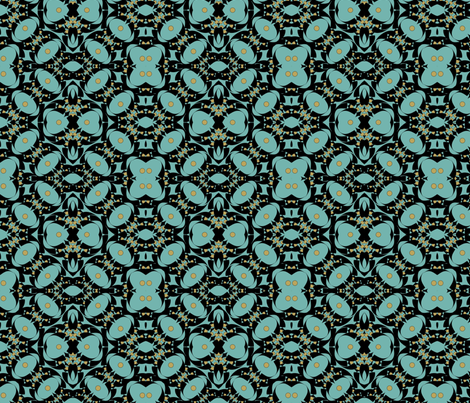 kinghini3-ed fabric by cilade on Spoonflower - custom fabric