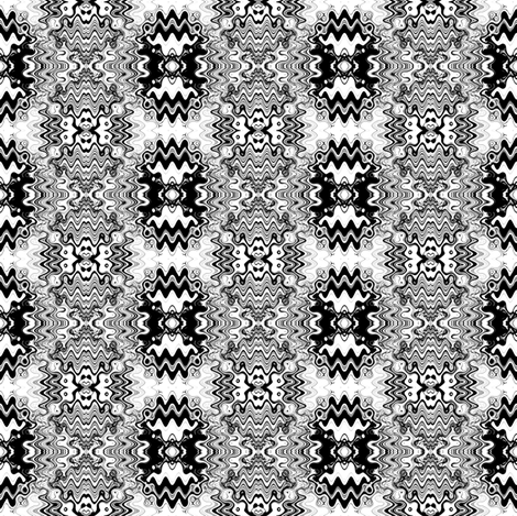 Black and White Marching fabric by telden on Spoonflower - custom fabric