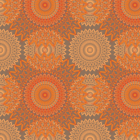 Grandma Neo - Sunset fabric by telden on Spoonflower - custom fabric