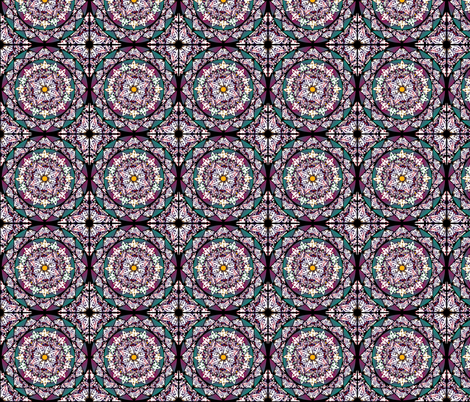 Stainedglass ~ Medium Print fabric by spontaneouscombustion on Spoonflower - custom fabric