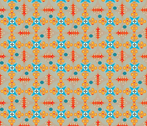 Fishing in the Ocean fabric by melachmulik on Spoonflower - custom fabric