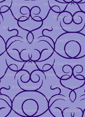 scrolls - purple