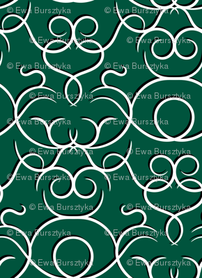 scrolls dark green w/ shadow