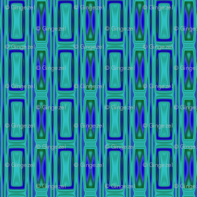 Lagoon Geometric 2 © Gingezel™ 2012