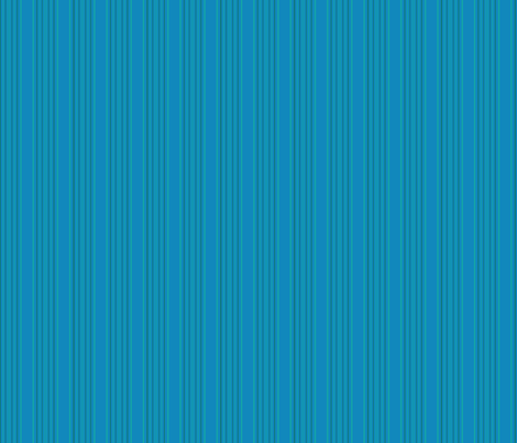 Lagoon Blue Stripe 2 © Gingezel™ 2013 fabric by gingezel on Spoonflower - custom fabric