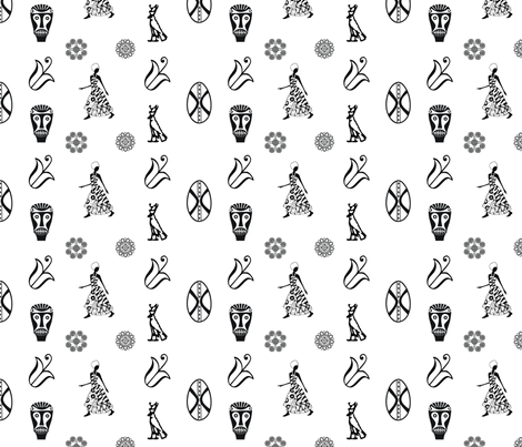 african-textile2 fabric by ronnyjohnson on Spoonflower - custom fabric