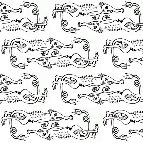 BoschDemon2 fabric by smwilde on Spoonflower - custom fabric