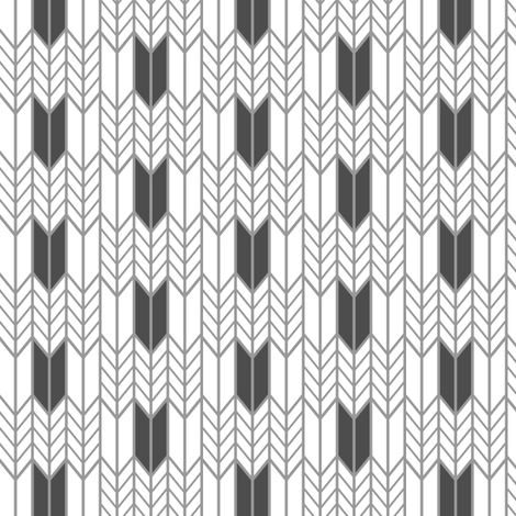 Gray Wheat Weave fabric by mrshervi on Spoonflower - custom fabric