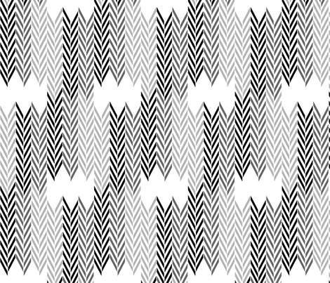 Black Wheat Herringbone fabric by mrshervi on Spoonflower - custom fabric