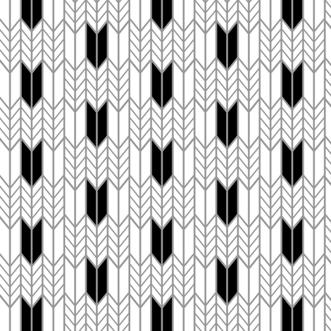 Black Wheat Weave fabric by mrshervi on Spoonflower - custom fabric