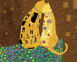 Klimts_Kats 8&quot;x8&quot;