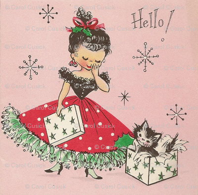 Hello Christmas Kitteh!