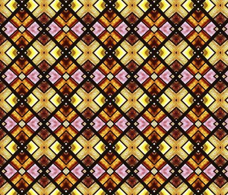 Stained Glass Squares fabric by mbsmith on Spoonflower - custom fabric