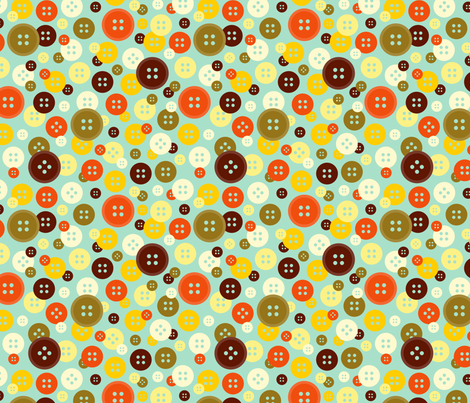 Button Confetti fabric by nadiahassan on Spoonflower - custom fabric