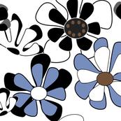 blue flower ocean