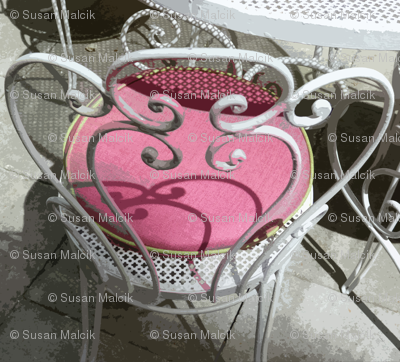 Barbie's Patio Chair