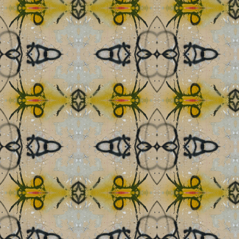 Urban Orchids fabric by susaninparis on Spoonflower - custom fabric