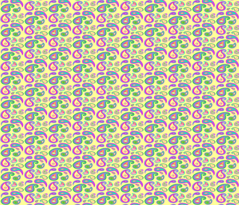 paisley-light fabric by krs_expressions on Spoonflower - custom fabric