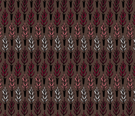 Potted Plant Gradient II. fabric by pond_ripple on Spoonflower - custom fabric